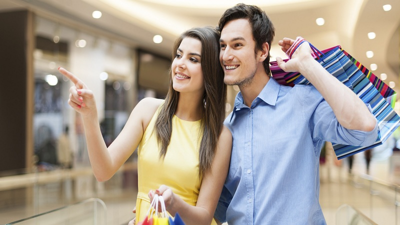 Go accompanied to make your shopping experience a pleasant moment